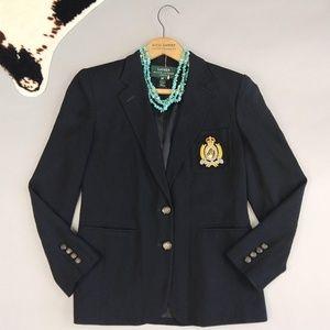 LRL size 4P Crest Blazer Black Horse Crown